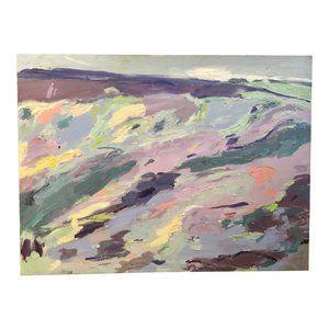 """""""Lavender Landscape"""" Original Painting"""